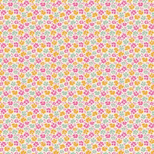 TILDA FABRICS - Lemon Tree - Flowerfield - Yellow