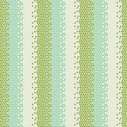 TILDA FABRICS - Lemon Tree - Mosaic - Green #12