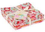 Lemon Tree Fat Quarter Bundle Red/Ginger by Tilda