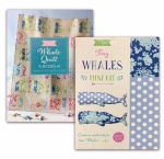 Tilda Combo - Tiny Whales Mini Kit & Sunkiss Whale Quilt Pattern