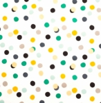 BIRCH FABRIC - Tonoshi - Organic - Mochi Dot Boy - Metallic Gold