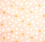 BIRCH FABRIC - Tonoshi - Organic - Mochi Dot Shell - Metallic Gold