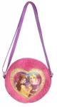 Disney Princess Plush Pink Canteen Crossbody Shoulder Bag