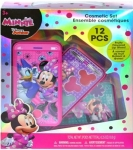 Disney Minnie Mouse Lip Gloss Cell Phone Slid Out Makeup Cosmetic Compact Case