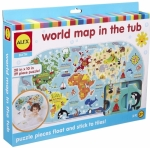 ALEX World Map in the Tub