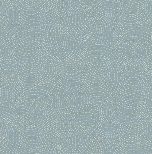 ANDOVER - Indigo by Makower - Sashiko Light Blue