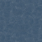 ANDOVER - Indigo by Makower - Sashiko Blue