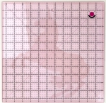 Tula Pink 12.5 Inch Fussy Cut Square Ruler with Unicorn