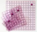 Tula Pink 4 Piece Fussy Cut Square Ruler Set with Unicorn
