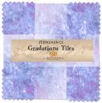 Northcott - Mystic Twilight Stonehenge Gradations 10 Inch Tiles 42 pcs