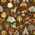 BIRCH FABRICS - Best of Teagan White - Critter Camp -