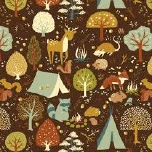 BIRCH FABRICS - Best of Teagan White - Critter Camp -