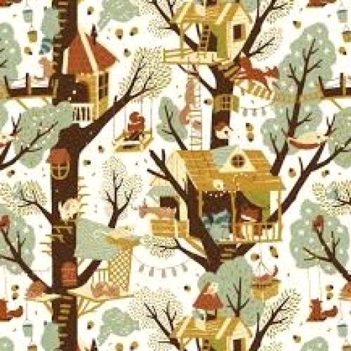 BIRCH FABRICS - Best of Teagan White - Tree Fort
