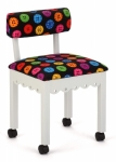 Arrow Wood Sewing and Craft Chair Button White Drop Ship