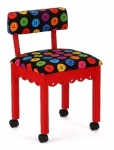 Arrow Wood Sewing and Craft Chair Button Red Drop Ship