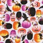 KAUFMAN - Totally Twilight - Wishwell by Vanessa Lillrose & Linda Fitch - Metallic - Spooky