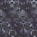 KAUFMAN - Totally Twilight - Wishwell by Vanessa Lillrose & Linda Fitch - Metallic - Smoke