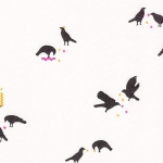 KAUFMAN - Totally Twilight - Wishwell by Vanessa Lillrose & Linda Fitch - Metallic - Bone