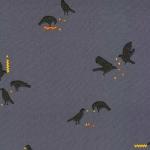 KAUFMAN - Totally Twilight - Wishwell by Vanessa Lillrose & Linda Fitch - Metallic - Shadow