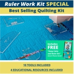 High Shank Ruler Work Kit with Foot by Westalee