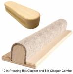 Seam Pressing Bar/Clapper and Additional Clapper Combo