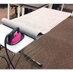 Wool Ironing Board Cover 24x60 by Wooly Felted Wonders