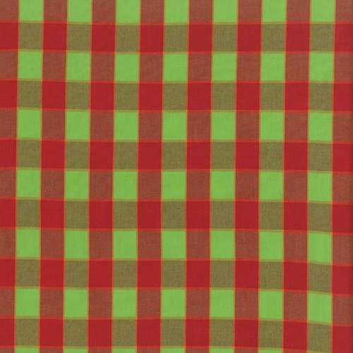FREE SPIRIT - Kaffe Fassett Collective Stash - Checkerboard Plaid Ikat - Red