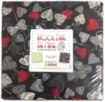 Benartex - Wool Ewe Be Mine 10x10 Pack
