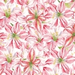 CLOTHWORKS - Holidays Remembered - Pink/White - SB362