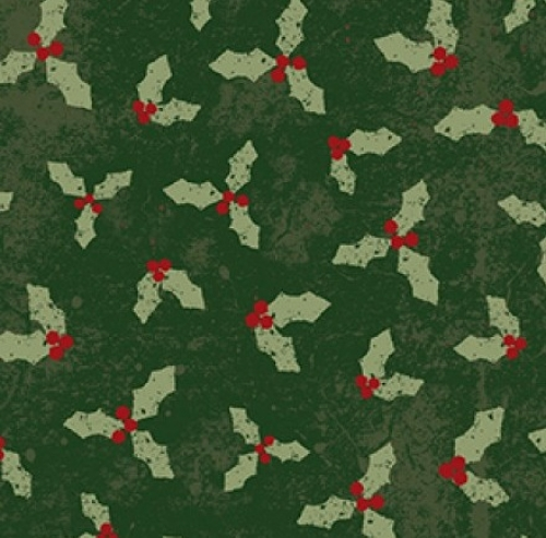 CLOTHWORKS - Home For Christmas - Holly Forest