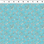 CLOTHWORKS - Daisy, Daisy by Anita Jeram - Sky Blue