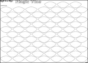 Magic Vine: Leaf Border Leaves Printed Paper-Backed Fusible Web PKG
