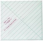 9 1/2 Triangle Square Up Ruler by Quilt in a Day