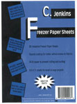 12x15 Freezer Paper Sheets by C. Jenkins 40/pkg