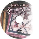 Snowball Quilt DVD