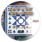 Bears in the Woods (2 Part Series) DVD