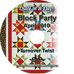 Strip TZZ - April - Turnover Twist - DVD