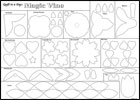 Magic Vine - Flower & Vine Leaves Printed Paper-Backed Fusible Web PKG