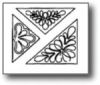 Triangular Designs 4,4.5 & 6 inch Stencil  EK20QC