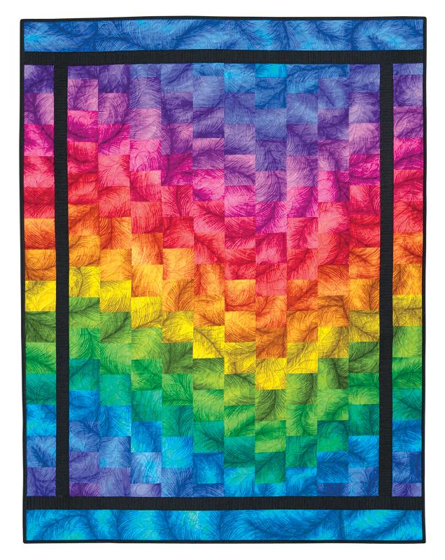 Color Wheel Quilt Eleanor Burns Signature Pattern