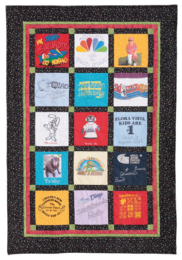 T Shirt Quilt Eleanor Burns Signature Quilt Pattern 735272012566