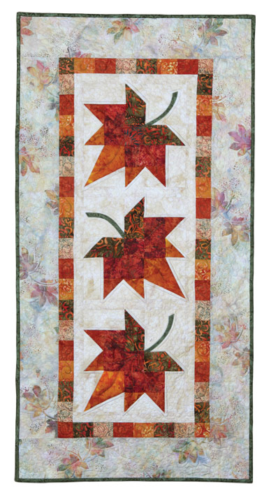 Autumn Leaves Eleanor Burns Signature Quilt Pattern