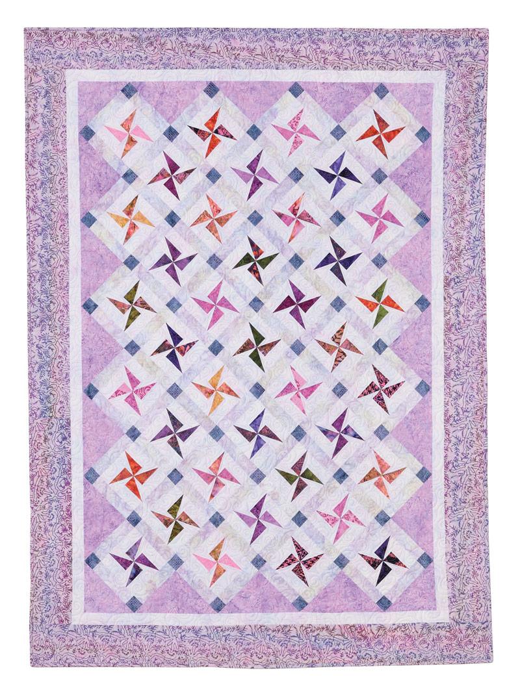 Swirling Stars Eleanor Burns Signature Pattern