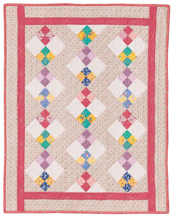 Double Four Patch Quilt Eleanor Burns Signature Pattern
