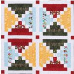 Chimneys And Cornerstones Quilt Block Pattern.Chimneys And Cornerstones Eleanor Burns Signature Pattern