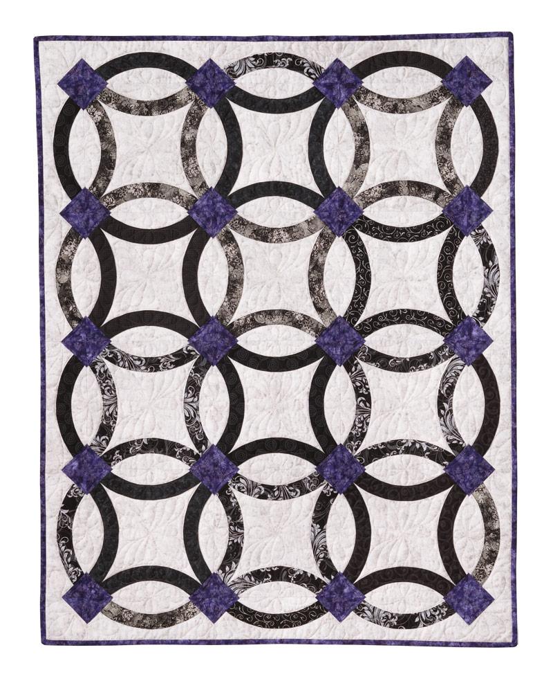 Nouveau Wedding Ring Quilt Eleanor Burns Signature Quilt Pattern Extraordinary Wedding Ring Quilt Pattern