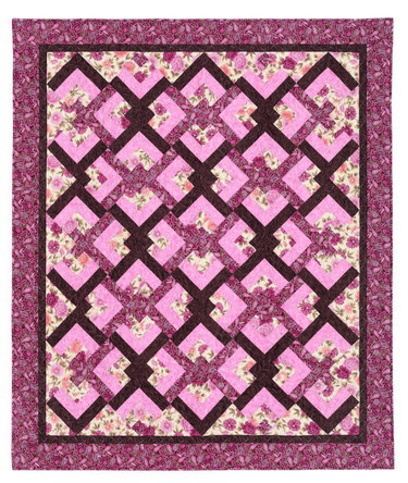 Quilting Pattern Lovers Knot : Lover s Knot Quilt 735272010791 - Quilt in a Day Books